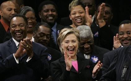 Clinton in South Carolina
