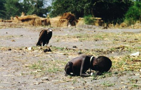 Kevin Carter's Pulitzer-winning photograph