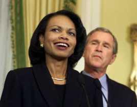 Condoleezza Rice and her best friend