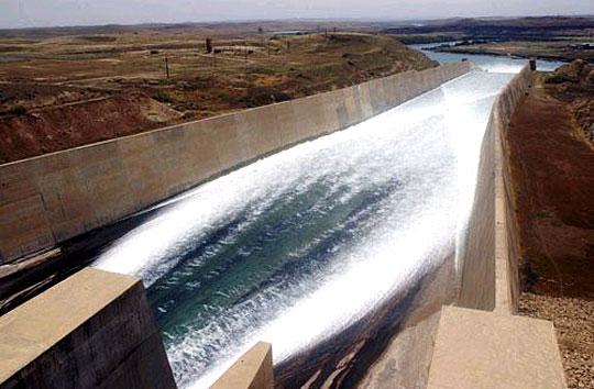 Mosul Dam, 2005
